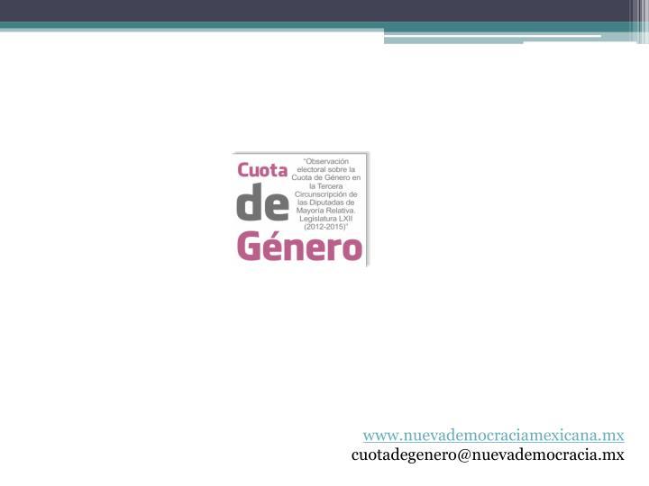 www.nuevademocraciamexicana.mx