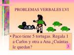 problemas verbales lvi