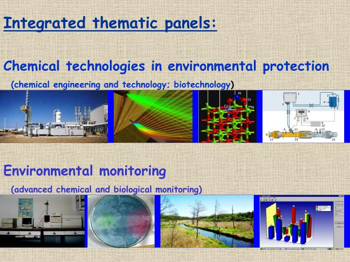 Integrated thematic panels: