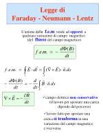 legge di faraday neumann lentz