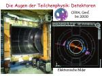 die augen der teilchenphysik detektoren