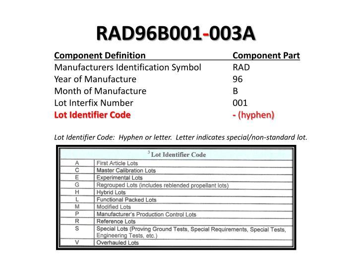 RAD96B001