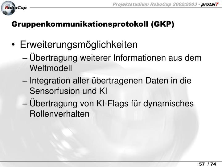 Gruppenkommunikationsprotokoll (GKP)