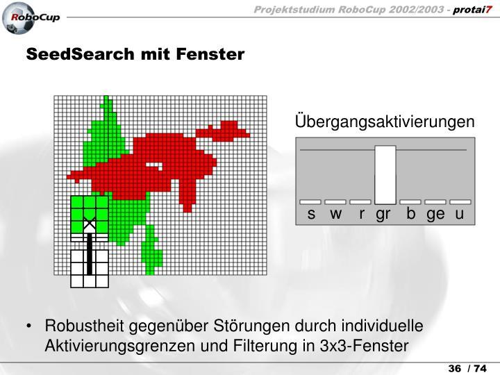 SeedSearch mit Fenster