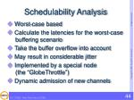 schedulability analysis