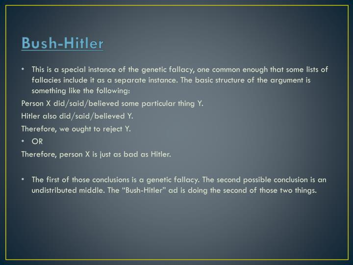 Bush-Hitler