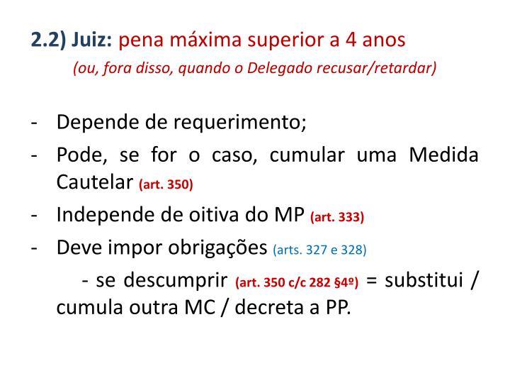 2.2) Juiz: