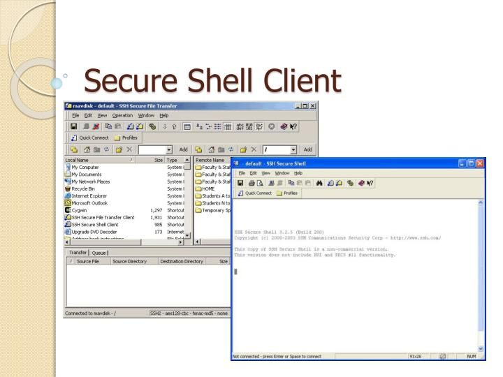 secure shell client n.