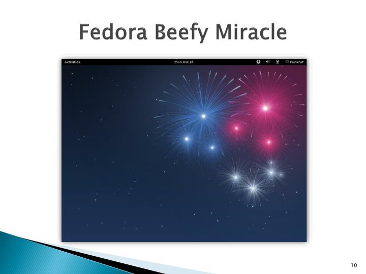 Fedora Beefy Miracle
