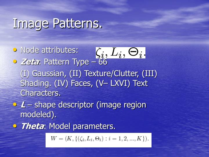 Image Patterns.