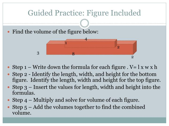 Guided Practice: Figure Included