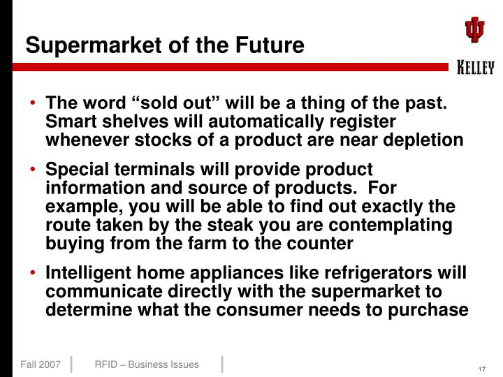 Supermarket of the Future