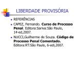 liberdade provis ria28