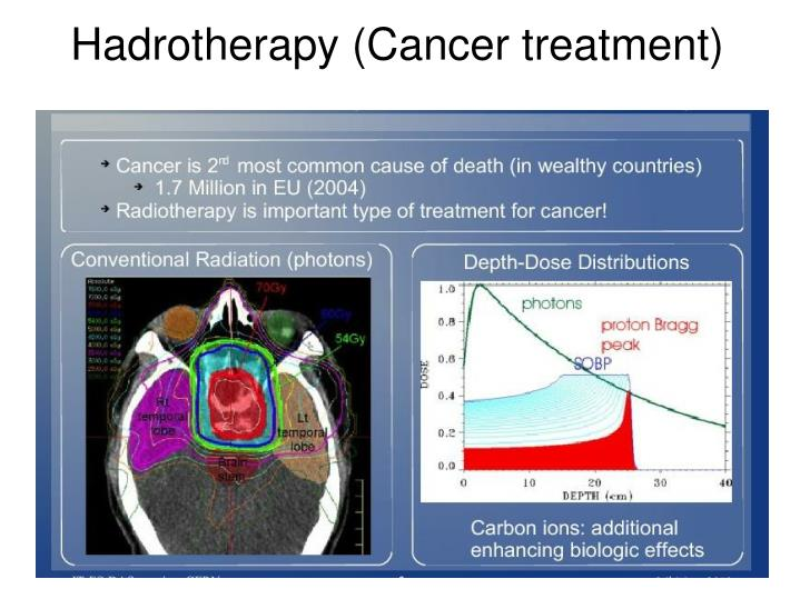 Hadrotherapy (Cancer treatment)