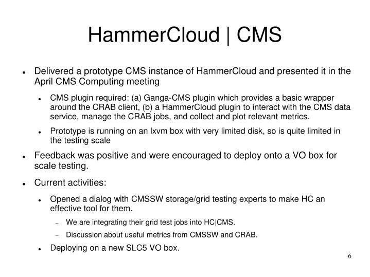 HammerCloud | CMS