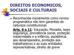 direitos economicos sociais e culturais
