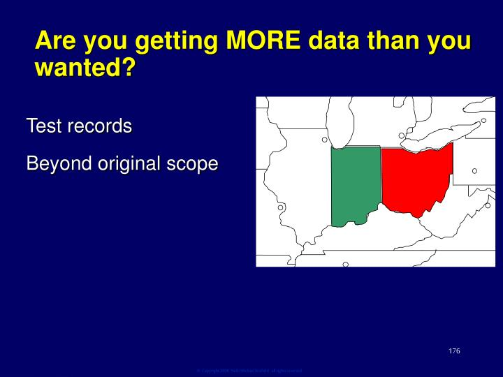 Are you getting MORE data than you wanted?