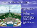 champ de mars july 17 1791