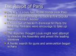 the revolt of paris