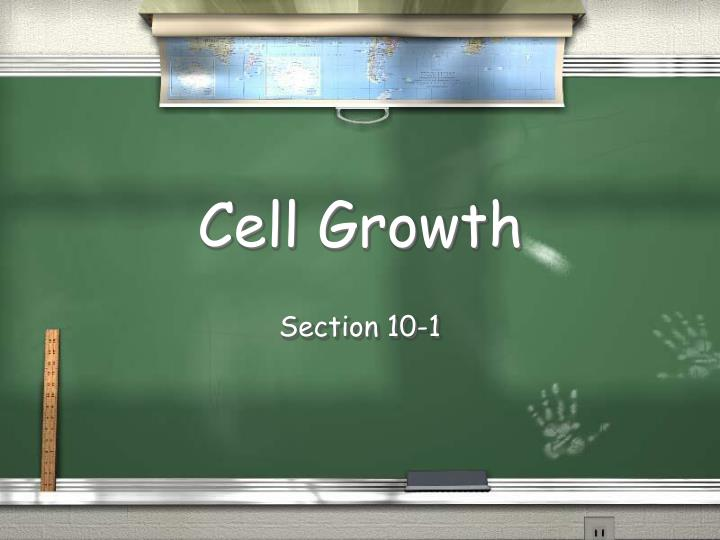 Cell growth