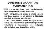 direitos e garantias fundamentais13