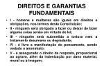 direitos e garantias fundamentais14