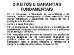 direitos e garantias fundamentais15