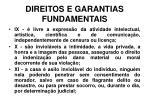 direitos e garantias fundamentais16