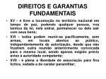 direitos e garantias fundamentais18