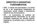direitos e garantias fundamentais19