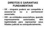 direitos e garantias fundamentais20