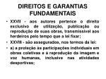direitos e garantias fundamentais23