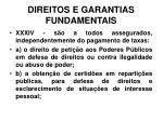 direitos e garantias fundamentais27