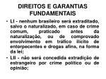 direitos e garantias fundamentais29