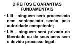direitos e garantias fundamentais30