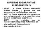 direitos e garantias fundamentais32