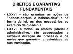 direitos e garantias fundamentais33