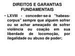 direitos e garantias fundamentais34