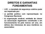 direitos e garantias fundamentais36
