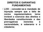 direitos e garantias fundamentais37