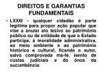 direitos e garantias fundamentais38