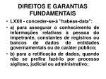 direitos e garantias fundamentais39