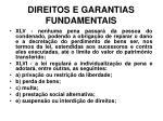 direitos e garantias fundamentais8