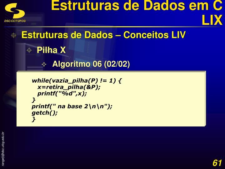 Estruturas de Dados em C LIX