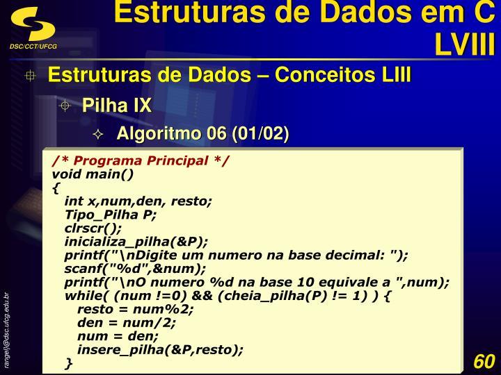 Estruturas de Dados em C LVIII