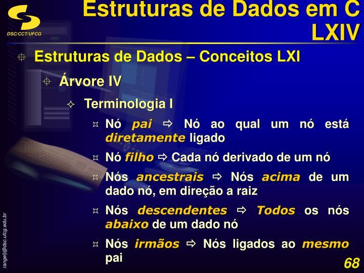 Estruturas de Dados em C LXIV