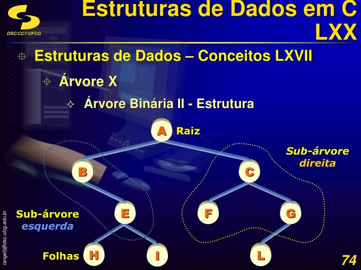 Estruturas de Dados em C LXX