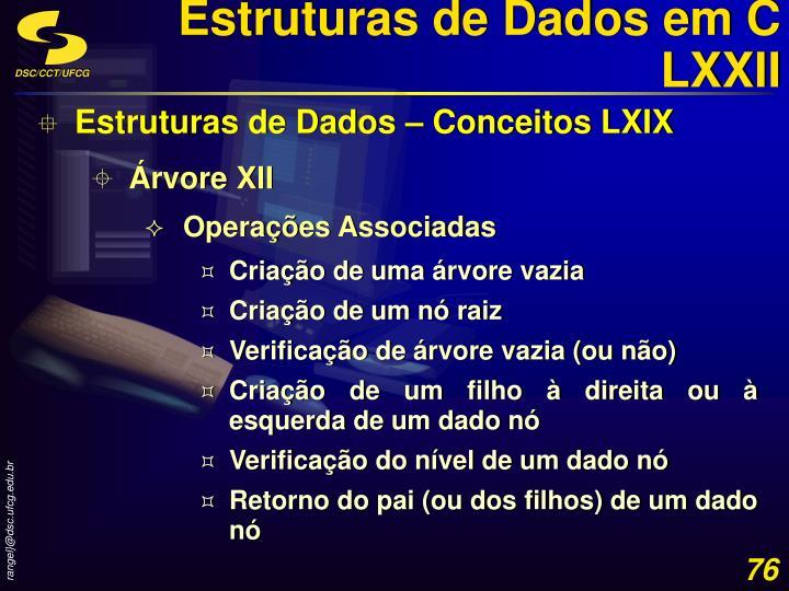 Estruturas de Dados em C LXXII
