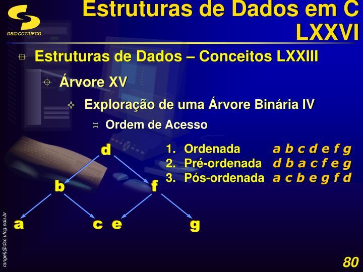 Estruturas de Dados em C LXXVI