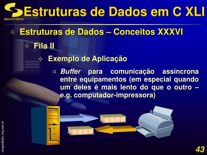 Estruturas de Dados em C XLI